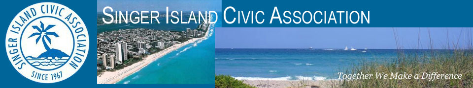 Singer Island Civic Association | Singer Island Florida